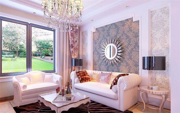 白金汉宫168四室两厅简欧风格装修效果图