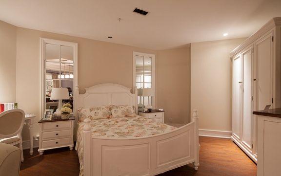 卧室吊顶田园风格装潢效果图