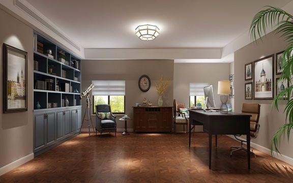 274平米美式风格三居装修效果图