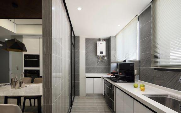 厨房吊顶现代简约风格装修图片