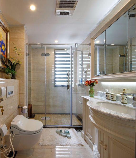 卫生间吊顶新古典风格装潢图片