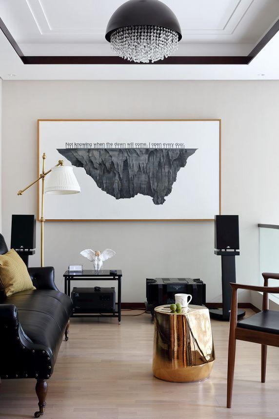 客厅沙发中式风格装潢图片