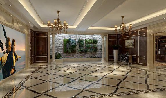地下室走廊欧式风格装饰图片