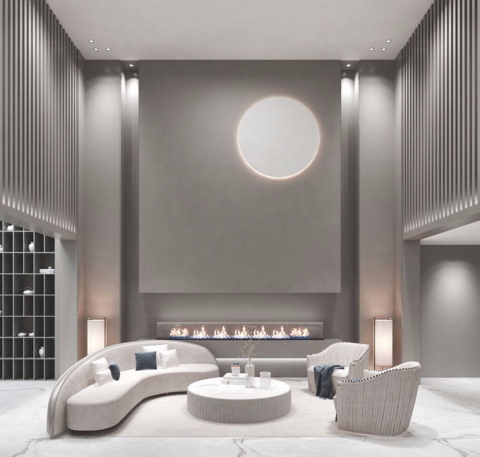 起居室沙发简约风格装修效果图
