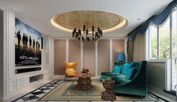 地下室沙发新古典风格装修效果图