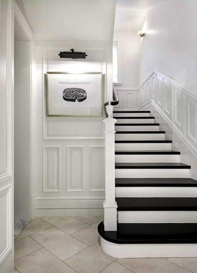 玄关楼梯混搭风格装修图片