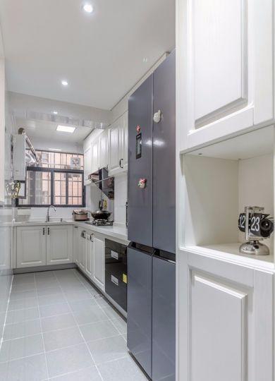 厨房地砖简约风格装潢图片