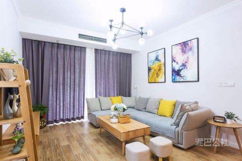 保利香槟117平米现代简约风格三居室装修效果图