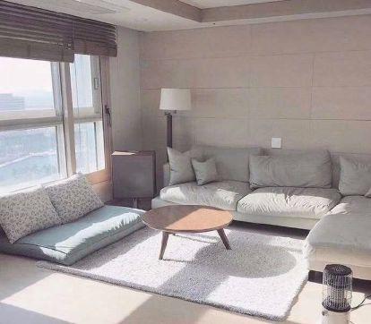 英格兰堡87平米二居室现代简约风格装修效果图