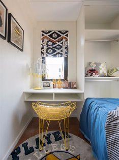 儿童房书桌现代简约风格装修设计图片