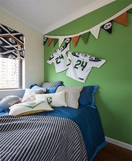 儿童房床现代简约风格装饰设计图片