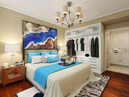 卧室床现代风格装饰效果图