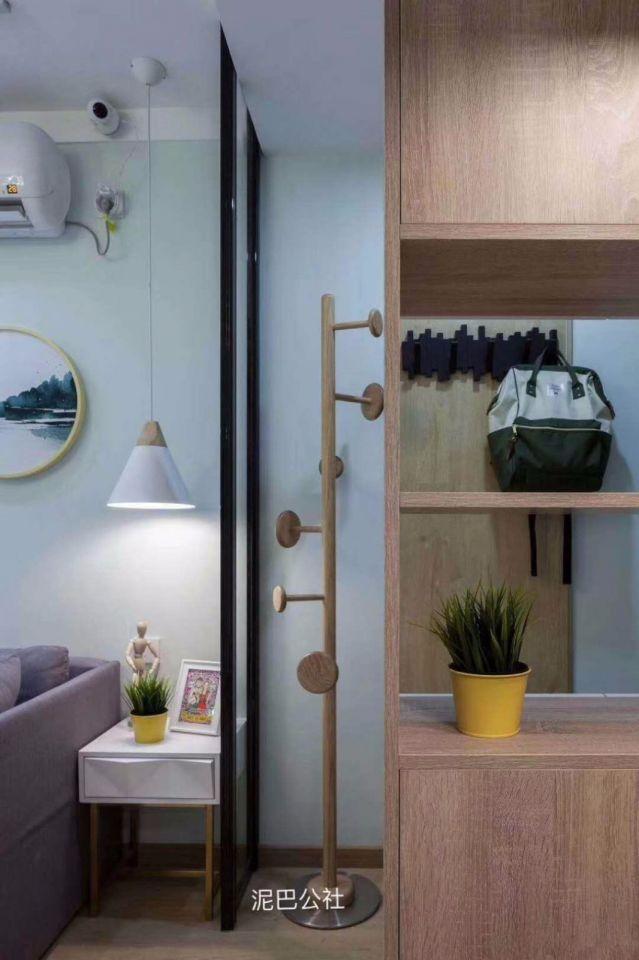 客厅隔断北欧风格效果图
