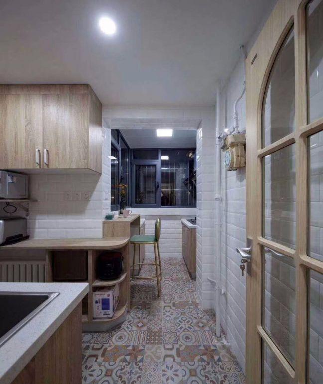 厨房吧台北欧风格装修效果图