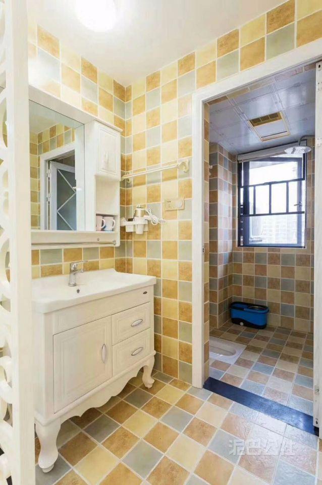卫生间洗漱台欧式风格装潢图片
