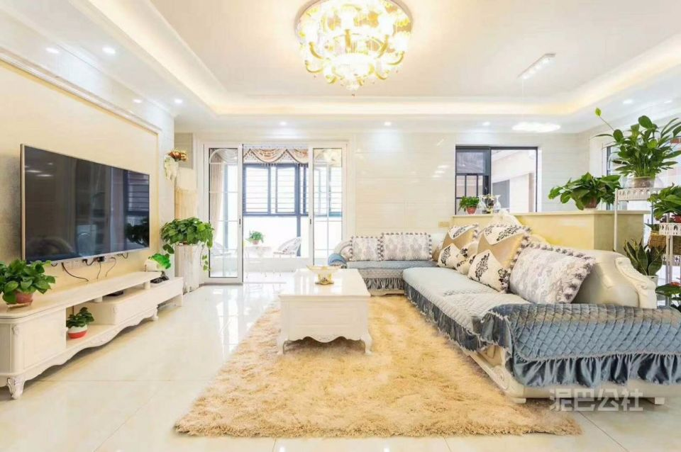 客厅沙发欧式风格装饰设计图片