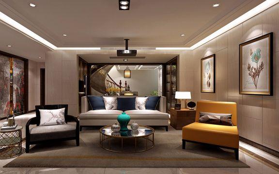 客厅沙发经典风格装饰设计图片