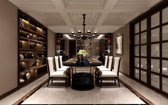 餐厅餐桌经典风格装饰图片