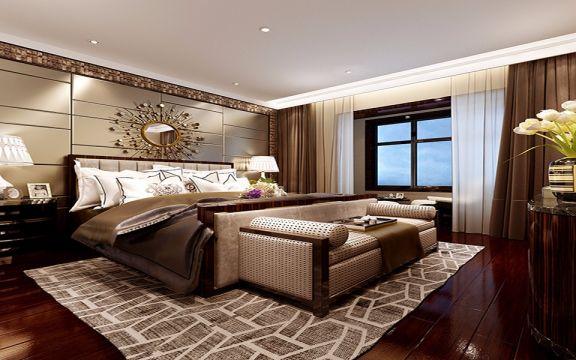 卧室床经典风格装饰设计图片