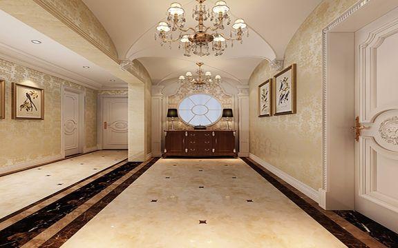 玄关走廊法式风格装饰效果图