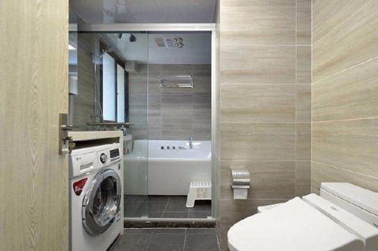 卫生间地板砖现代简约风格装潢图片