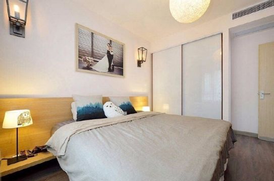 卧室茶几现代简约风格装饰设计图片