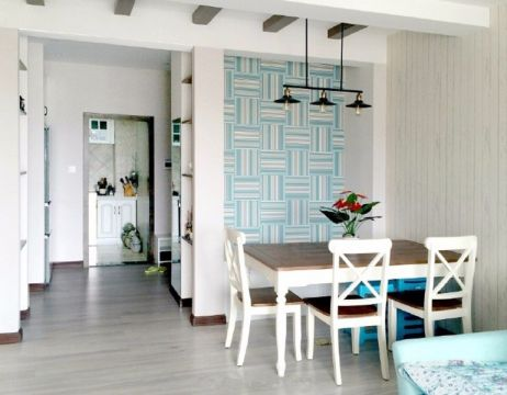 现代简约风格75平米小户型室内装修效果图