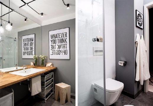 卫生间洗漱台现代简约风格装修图片