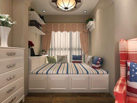 卧室榻榻米田园风格装潢设计图片