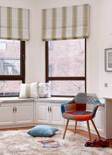 阳光房飘窗美式风格装修图片