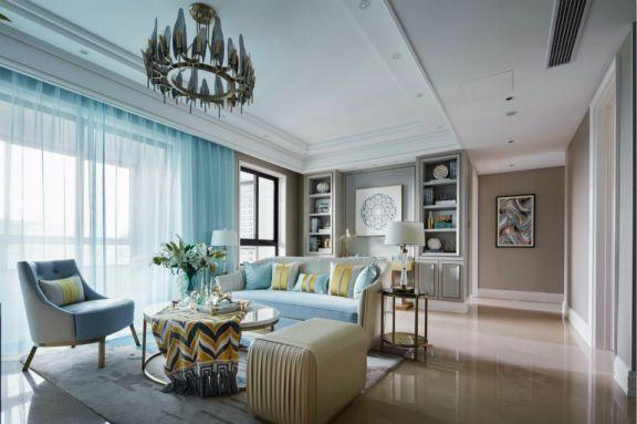 阳光城丽景湾三室两厅100平欧式装修效果图