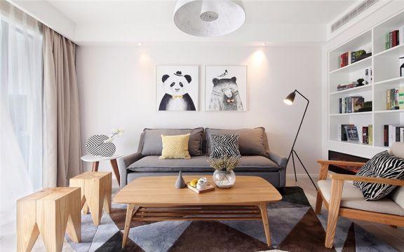 简欧风格138平米四室两厅室内装修效果图