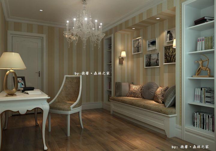 书房灯具简欧室内装饰