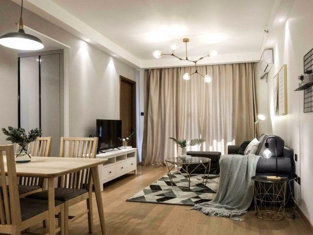 北欧风格90平米小户型室内装修效果图