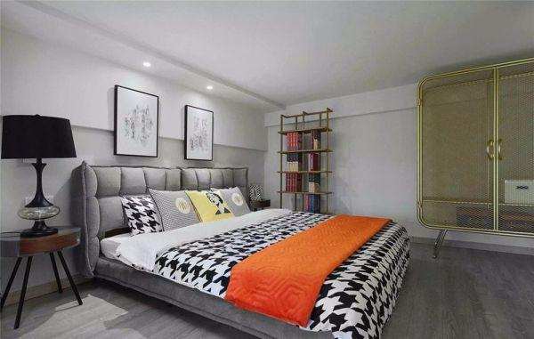 金地天逸89平米简约风格两居装修效果图