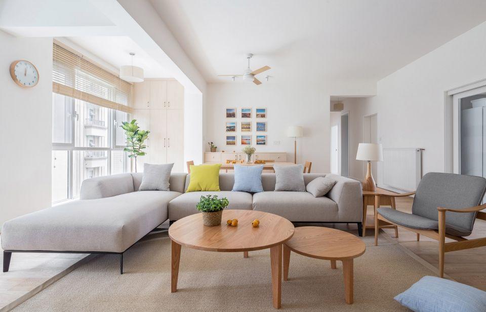 115平日式三居室装修风格