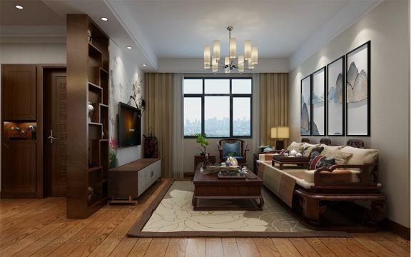 2018新中式90平米装饰设计 2018新中式二居室装修设计