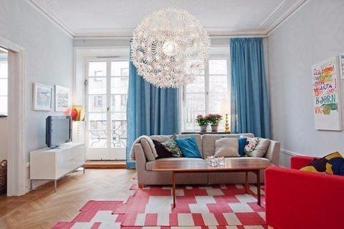 簡單風格90平米2房2廳房子裝飾效果圖