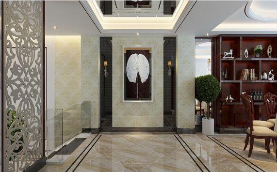 餐厅地砖欧式风格装饰效果图