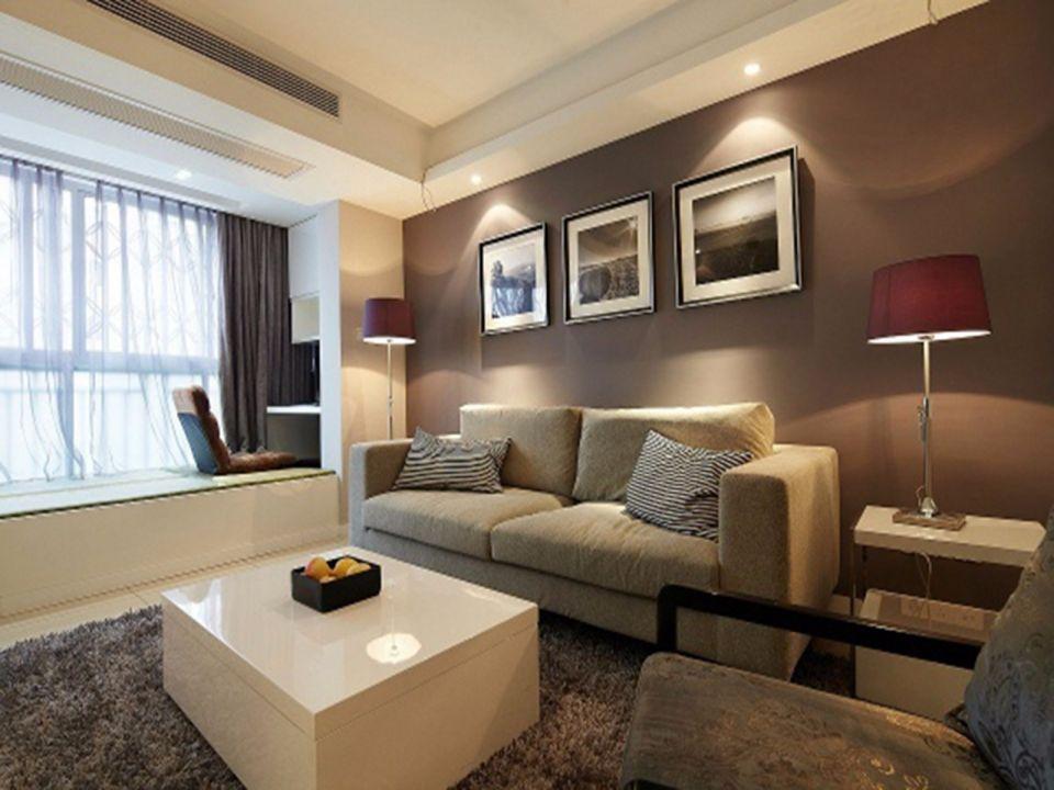 简约风格70平米一居室新房装修效果图