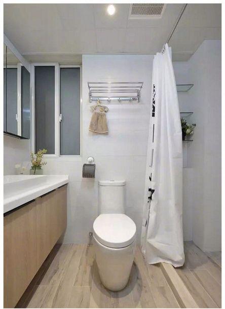 卫生间洗漱台简约风格装修设计图片