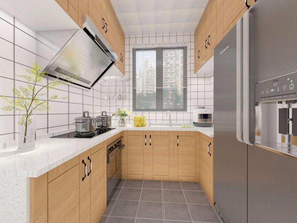 厨房橱柜北欧家装设计