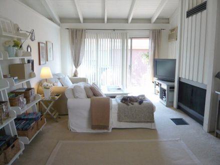 简单风格66平米两室两厅新房装修效果图
