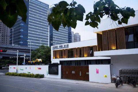 1000平米现代风格教育建筑设计装修效果图