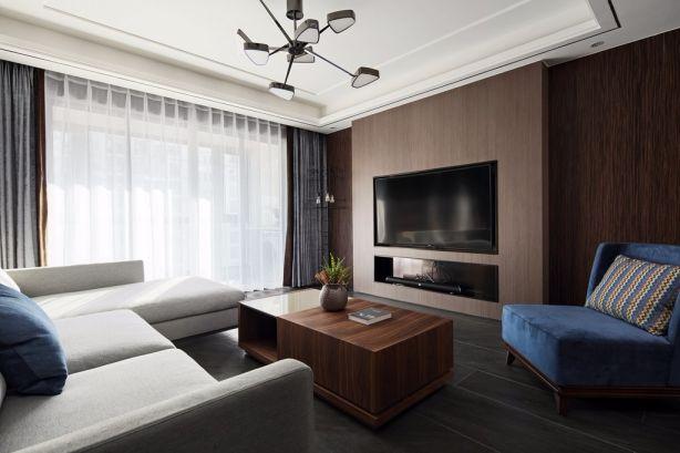 客厅榻榻米现代风格装饰设计图片