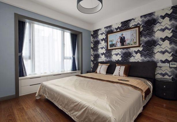 卧室榻榻米现代风格装饰效果图