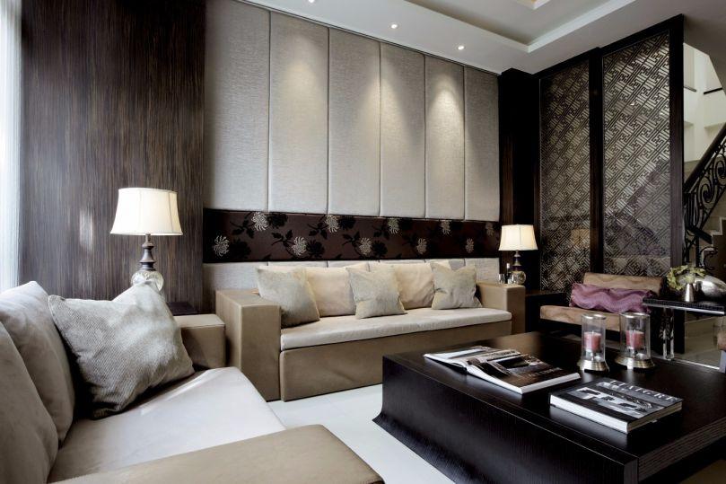 客厅茶几新中式风格装修效果图