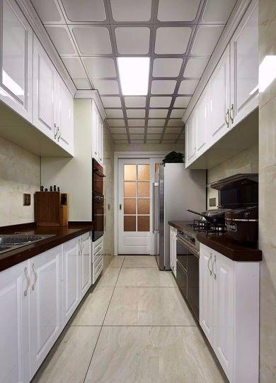 欧式风格厨房橱柜室内效果图