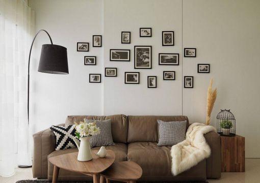 北欧风格99平米两室两厅新房装修效果图