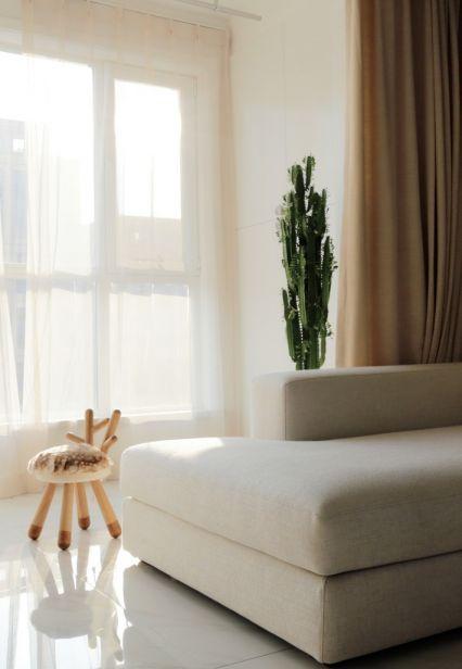 阳台窗台简约风格装饰设计图片